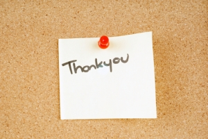 Respond to Feedback With Thank You